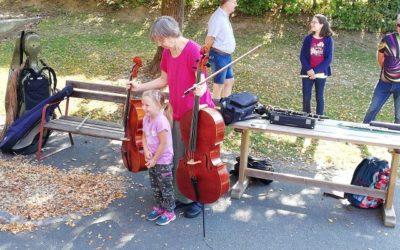 Besuch der Musikschule